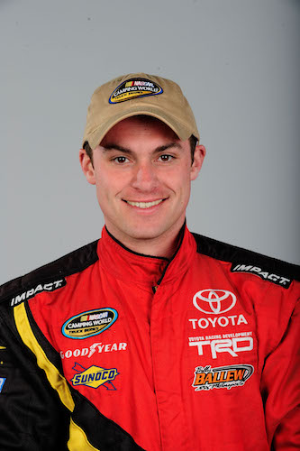 Shane Sieg (photo courtesy of Getty Images for NASCAR)