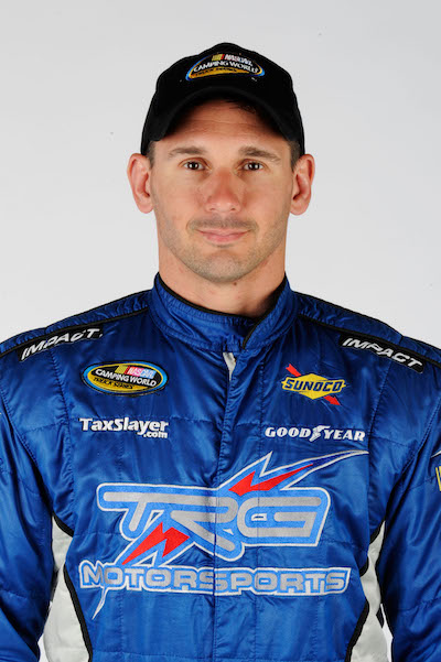 Andy Lally (photo courtesy of Getty Images for NASCAR)