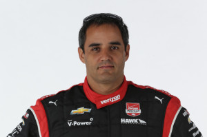 Juan Montoya (photo courtesy of IndyCar)