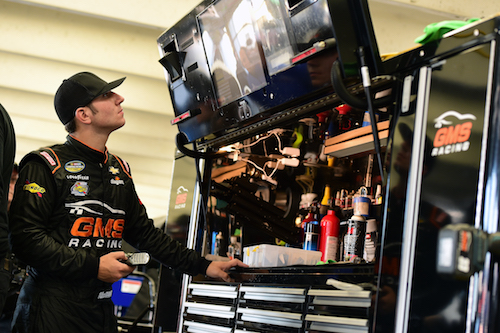 GMS Racing NASCAR Camping World Truck Series driver Kaz Grala (photo courtesy of Getty Images for NASCAR)