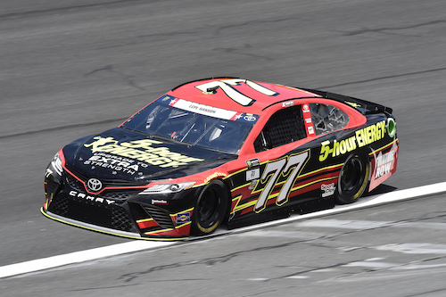 No. 77 Furniture Row Racing Toyota of Erik Jones (photo courtesy of Getty Images for NASCAR)