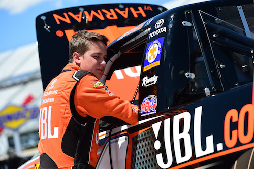 Christopher Bell (photo courtesy of Getty Images for NASCAR)