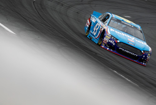 The No. 43 Richard Petty Motorsports Ford of Aric Almirola (photo courtesy of Getty Images for NASCAR)