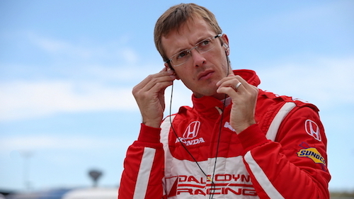 Sebastien Bourdais (photo courtesy of Indianapolis Motor Speedway)