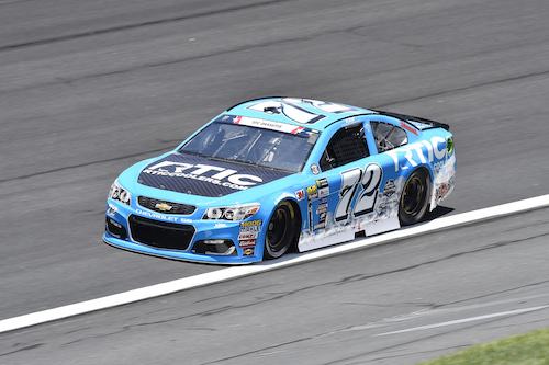 No. 72 TriStar Motorsports Chevrolet of Cole Whitt (photo courtesy of Getty Images for NASCAR)