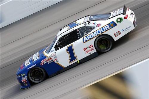 No. 1 JR Motorsports Chevrolet of Elliott Sadler (photo courtesy of Getty Images for NASCAR)