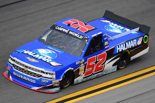 No. 52 Halmar Friesen Racing Chevrolet of Stewart Friesen (photo courtesy of Getty Images for NASCAR)