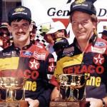 Davey Allison and Robert Yates