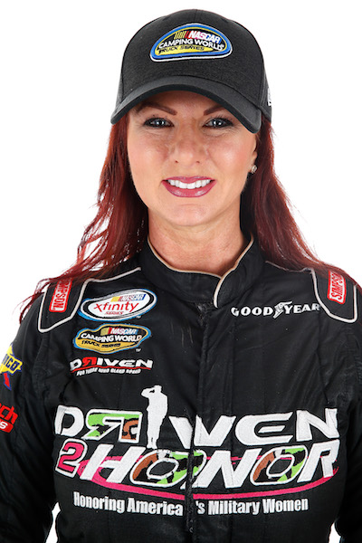 Jennifer Jo Cobb (photo courtesy of Getty Images for NASCAR)