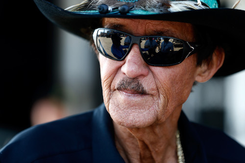 Richard Petty (photo courtesy of Getty Images for NASCAR)