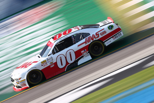 No. 00 Stewart-Haas Racing Ford of Cole Custer (photo courtesy of Getty Images for NASCAR)