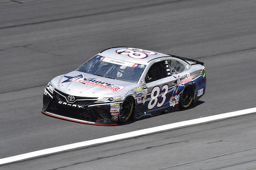 No. 83 BK Racing Toyota (photo courtesy of Getty Images for NASCAR)
