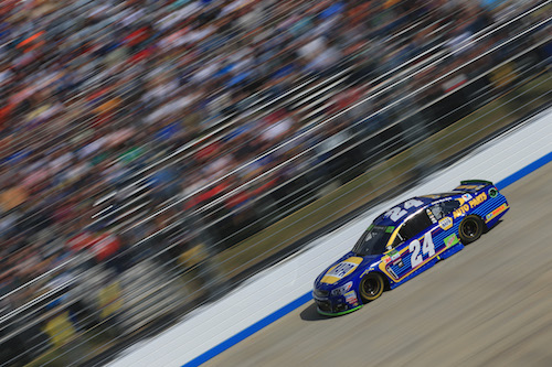 No. 24 Hendrick Motorsports Chevrolet of Chase Elliott (photo courtesy of Getty Images for NASCAR).