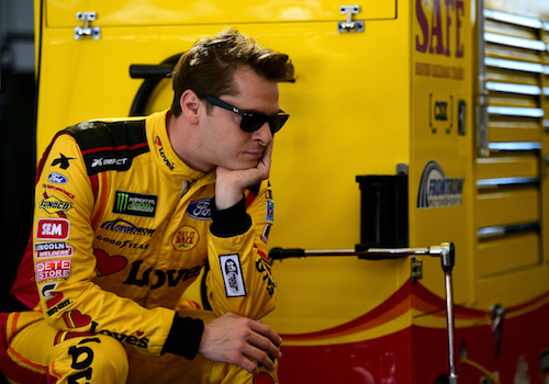 Landon Cassill (photo courtesy of Getty Images for NASCAR)