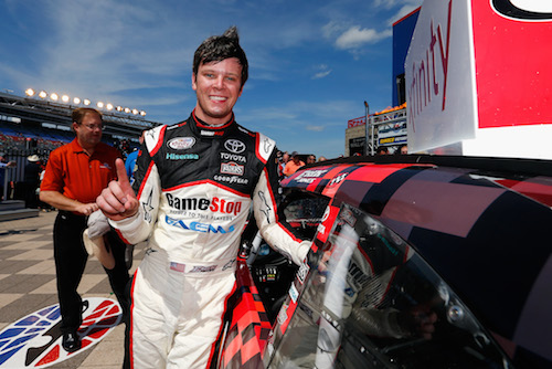 Erik Jones (photo courtesy of Getty Images for NASCAR)