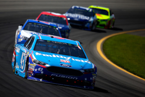 No. 43 Richard Petty Motorsports Ford (photo courtesy of Getty Images for NASCAR)