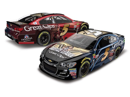 No. 5 Hendrick Motorsports Chevrolet paint scheme unveiled by the race team on Oct. 31, 2017 (graphic courtesy of Hendrick Motorsports)