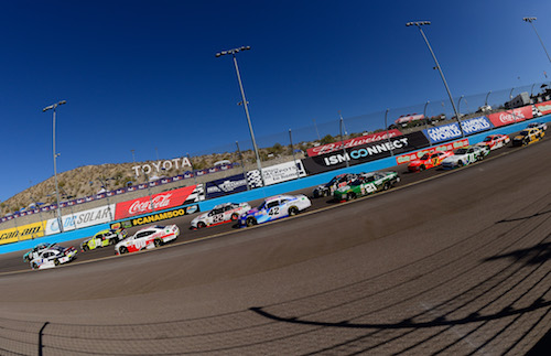 The NASCAR Xfinity Series in the Ticket Galaxy 200 at Phoenix International Raceway (photo courtesy of Getty Images for NASCAR)