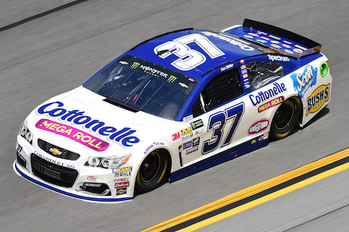No. 37 JTG-Daugherty Racing Chevrolet of Chris Buescher (photo courtesy of Getty Images for NASCAR)