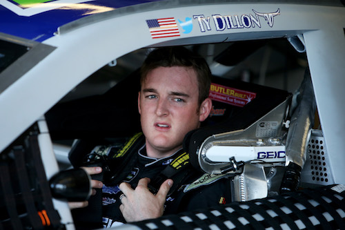 Ty Dillon (photo courtesy of Getty Images for NASCAR)