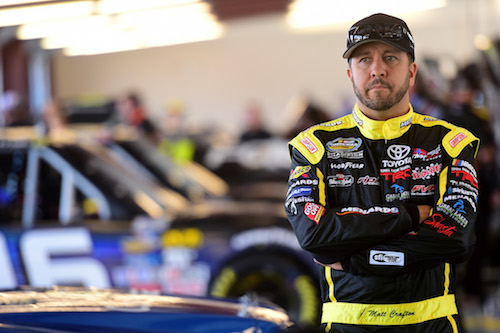Matt Crafton (photo courtesy of Getty Images for NASCAR)
