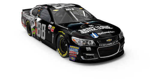 Rendering of the No. 88 Hendrick Motorsports Chevrolet of Dale Earnhardt Jr. for the AAA Texas 500 at Texas Motor Speedway (graphic courtesy of Hendrick Motorsports).