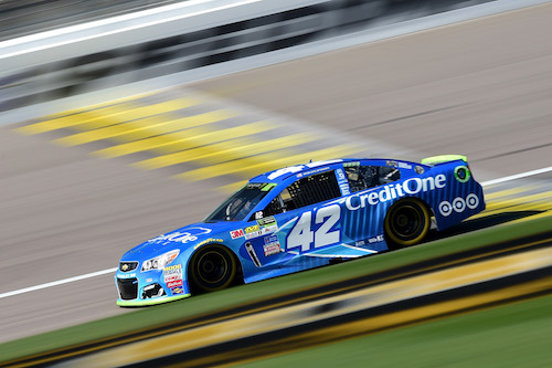 No. 42 Chip Ganassi Racing Chevrolet of Kyle Larson (photo courtesy of Getty Images for NASCAR)