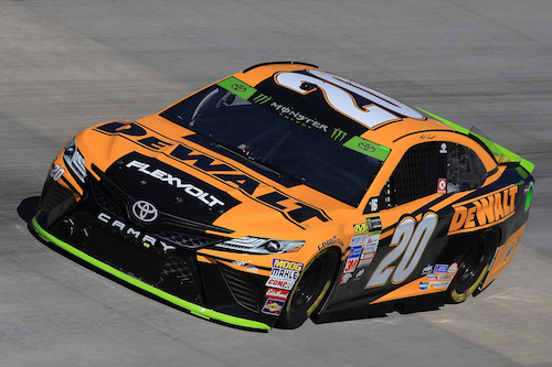 No. 20 Joe Gibbs Racing Toyota of Matt Kenseth (photo courtesy of Getty Images for NASCAR)
