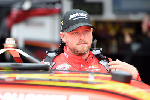 Justin Allgaier (photo courtesy of Getty Images for NASCAR).