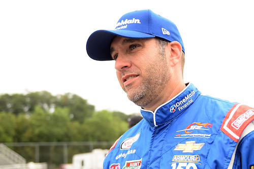 Elliott Sadler (photo courtesy of Getty Images for NASCAR)