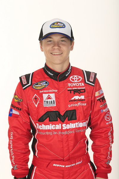 Austin Wayne Self (photo courtesy of Getty Images for NASCAR)