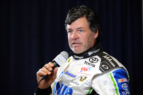Michael Waltrip (photo courtesy of Getty Images for NASCAR)