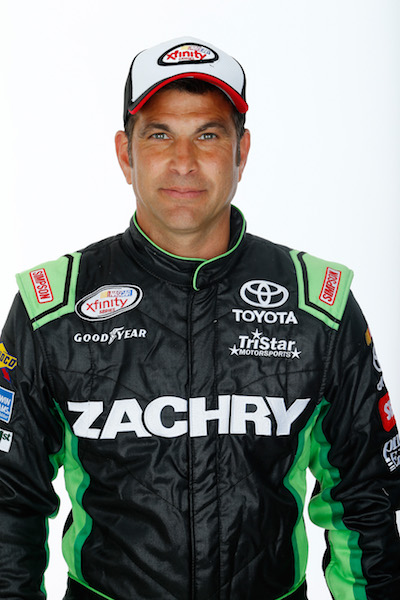 David Starr (photo courtesy of Getty Images for NASCAR)