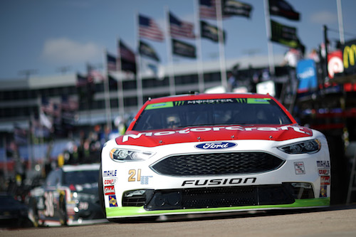 No. 21 Wood Brothers Racing Ford of Ryan Blaney (photo courtesy of Getty Images for NASCAR)