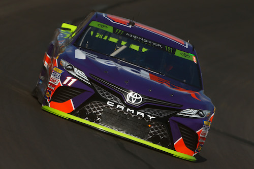 No. 11 Joe Gibbs Racing Toyota of Denny Hamlin
