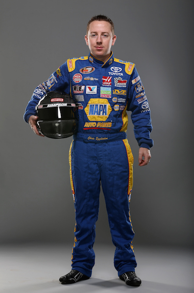 Chris Eggleston (photo courtesy of Getty Images for NASCAR)