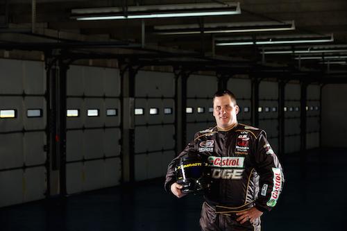 D.J. Kennington (photo courtesy of Getty Images for NASCAR)