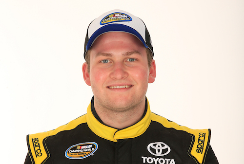 Cody Coughlin (photo courtesy of Getty Images for NASCAR)