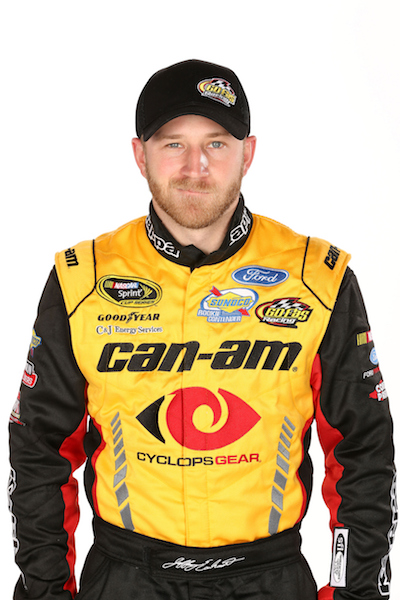 Jeffrey Earnhardt (photo courtesy of Getty Images for NASCAR)