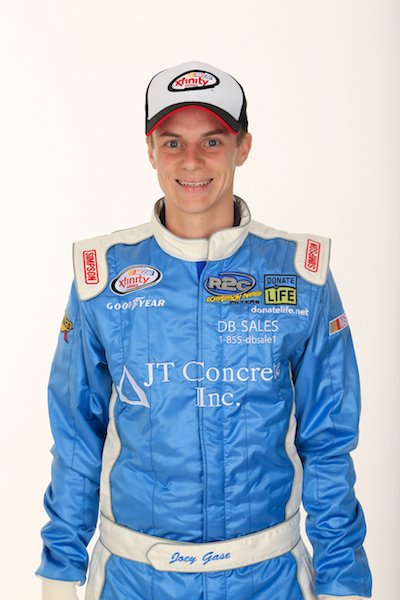 Joey Gase (photo courtesy of Getty Images for NASCAR)
