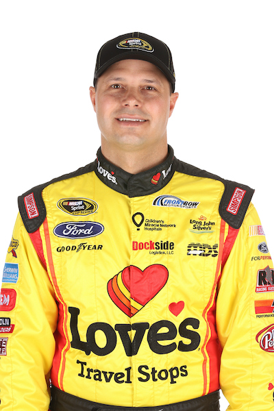 David Gilliland (photo courtesy of Getty Images for NASCAR)