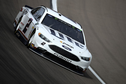 No. 2 Team Penske Ford of Brad Keselowski (photo courtesy of Getty Images for NASCAR).
