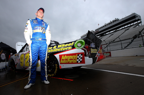 Parker Kligerman (photo courtesy of Getty Images for NASCAR)