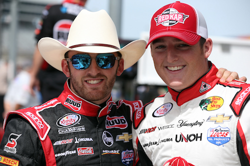 L to R: Austin Dillon and Ty Dillon (photo courtesy of Getty Images for NASCAR)