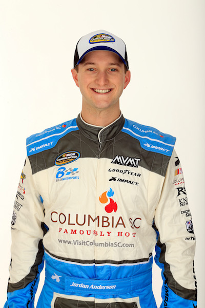 Jordan Anderson (photo courtesy of Getty Images for NASCAR)