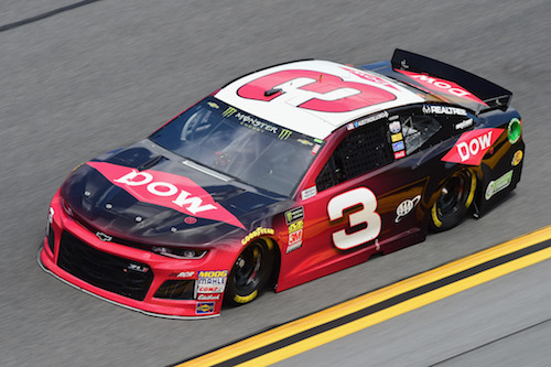 No. 3 Richard Childress Racing Chevrolet of Austin Dillon (photo courtesy of Getty Images for NASCAR)