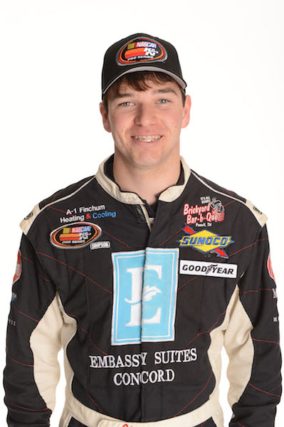 Chad Finchum (photo courtesy of Getty Images for NASCAR)