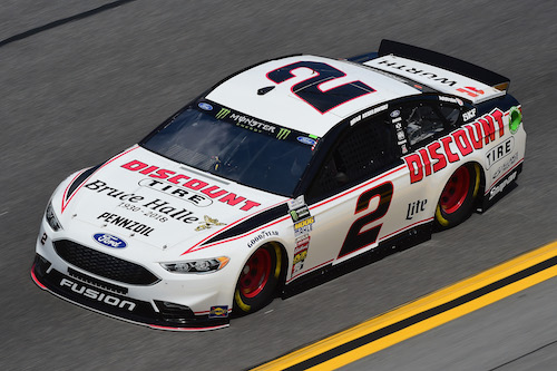 No. 2 Team Penske Ford of Brad Keselowski (photo courtesy of Getty Images for NASCAR)