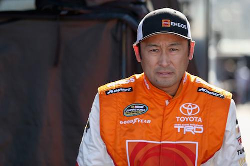 Akinori Ogata (photo courtesy of Getty Images for NASCAR)