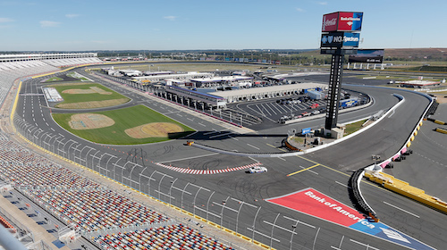 Nascar cup drivers test charlotte motor speedway 39 roval for Charlotte motor speedway phone number